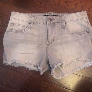 Joe's Jeans denim cutoff shorts